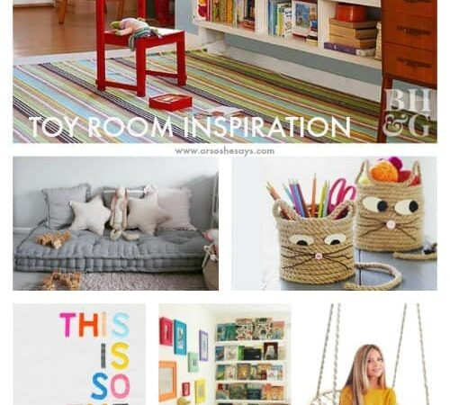 Toy Storage for the Living Room – and More!