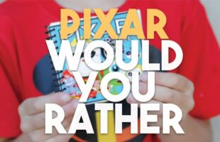 Pixar-themed Would You Rather Questions Game