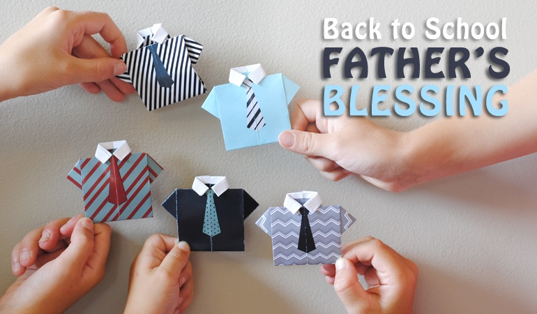 Back to School Fathers Blessing