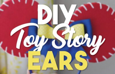 "With Pixar Pier's grand-opening at the Disneyland Resort and the debut of Toy Story Land in Walt Disney World, we couldn't help but feel inspired to go ""Infinity and Beyond"" with these inspired DIY Toy Story Jessie Ears. Whether you want to sport them at home or in the parks, this craft is so easy and fun to make! #disney #disneyland #disneyvacation #mickeyears #pixar #toystory #craft"