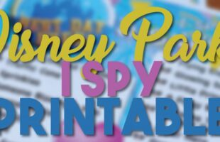 I Spy Free Printable – Disney Parks Edition