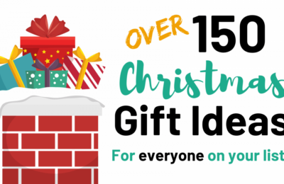 Over 150 Christmas Gift Ideas for Everyone on Your List! #christmasgifts #giftideas #gifts www.orsoshesays.com