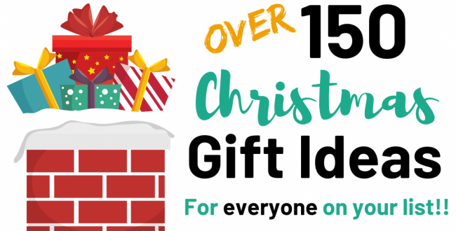 Over 150 Christmas Gift Ideas