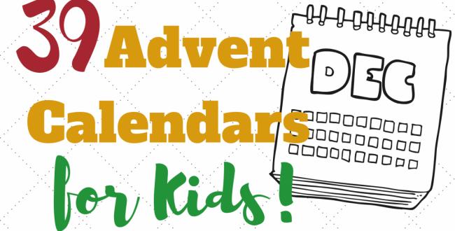 39 Advent Calendars for Kids