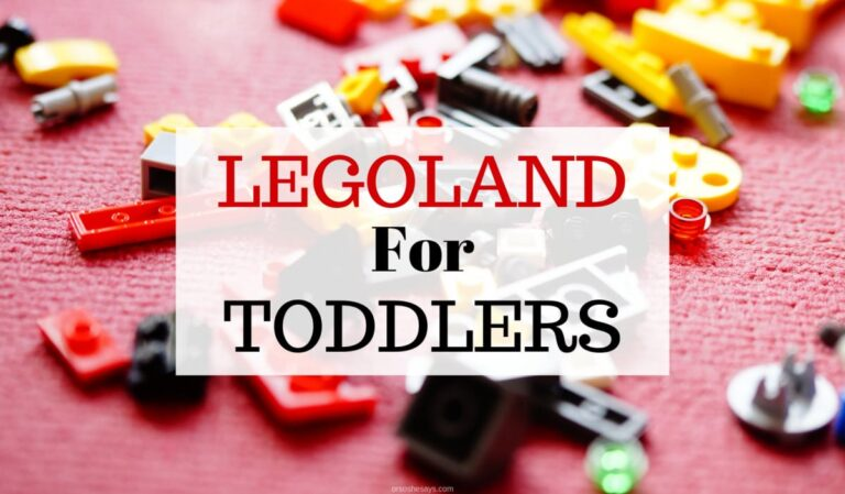 Why LEGOLAND is the Best Theme Park for Toddlers