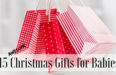 15 AWESOME Christmas gifts for babies on www.orsoshesays.com #christmas #christmasgifts #giftideas #gifts #giftsforbabies #holidays