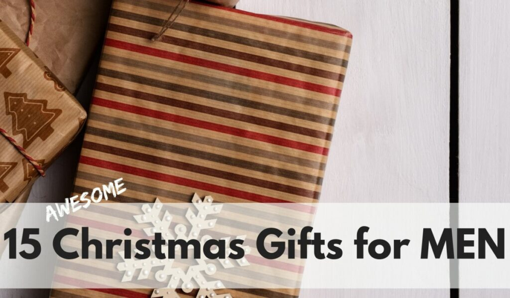 15 Awesome Christmas Gifts for Men on www.orsoshesays.com #christmas #christmasgifts #giftsformen #holidays
