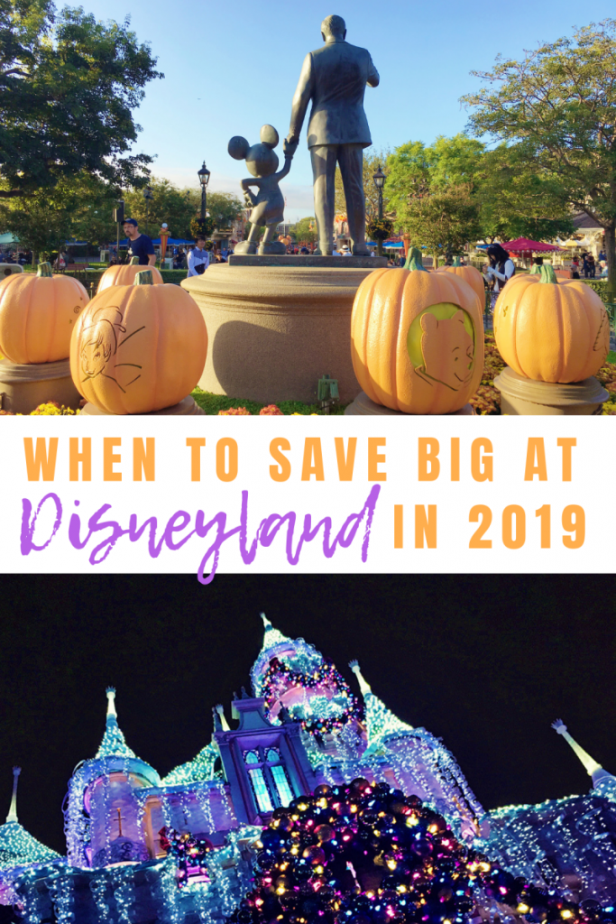 Get Away Today has deals throughout all of 2019, so you can save the most no matter when you travel to The Happiest Place on Earth. Keep reading to find out when to save BIG at Disneyland in 2019. #GAT #getawaytoday #disney #disneyland #familyvacation #vacation #osss #osssdoesdisney www.orsoshesays.com