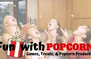 Fun with popcorn ~ Popcorn games, popcorn recipes, popcorn activities, and best popcorn products!