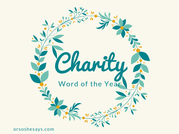 Choose a Family Word of the Year. This Family Night lesson will help you become more like Christ by learning his divine attributes and making them a focus in your daily life. #OSSS #WordOfTheYear #Goals #BeLikeJesus #FamilyHomeEvening