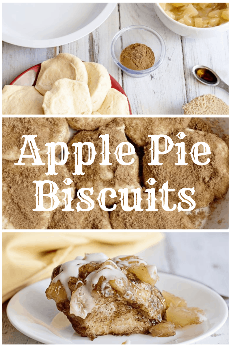 These Apple Pie Biscuits are literal heaven. That's all. www.orsoshesays.com
