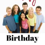 Teenage Birthday Party Ideas