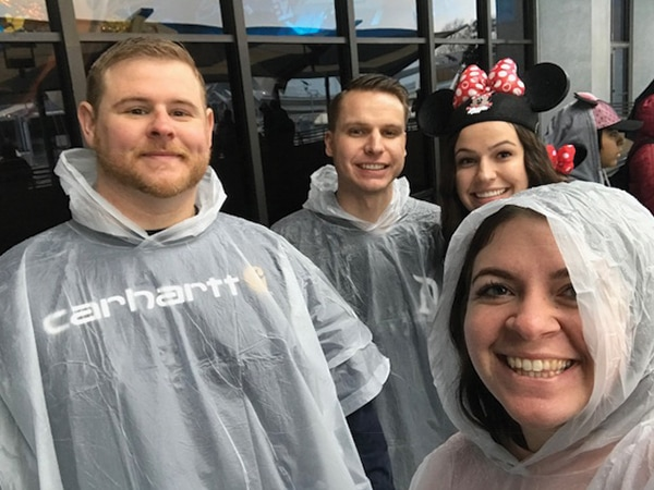 The experts from Get Away Today share how to make the most of Disneyland in the rain in today's blog post. Check out their tried and true tips! orsoshesays.com #Disneyland #familyvacation #Disneylandintherain #Disneylandtips