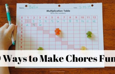 9 Simple Ways to Make Chores Fun for Kids! #orsoshesays #OSSS #ParentingWin #Chores orsoshesays.com