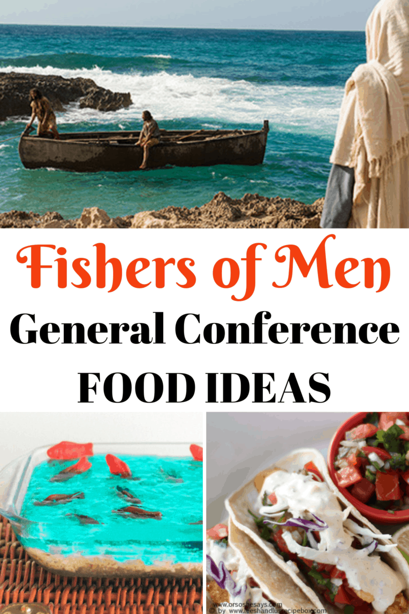 'Fishers of Men' General Conference Food Ideas