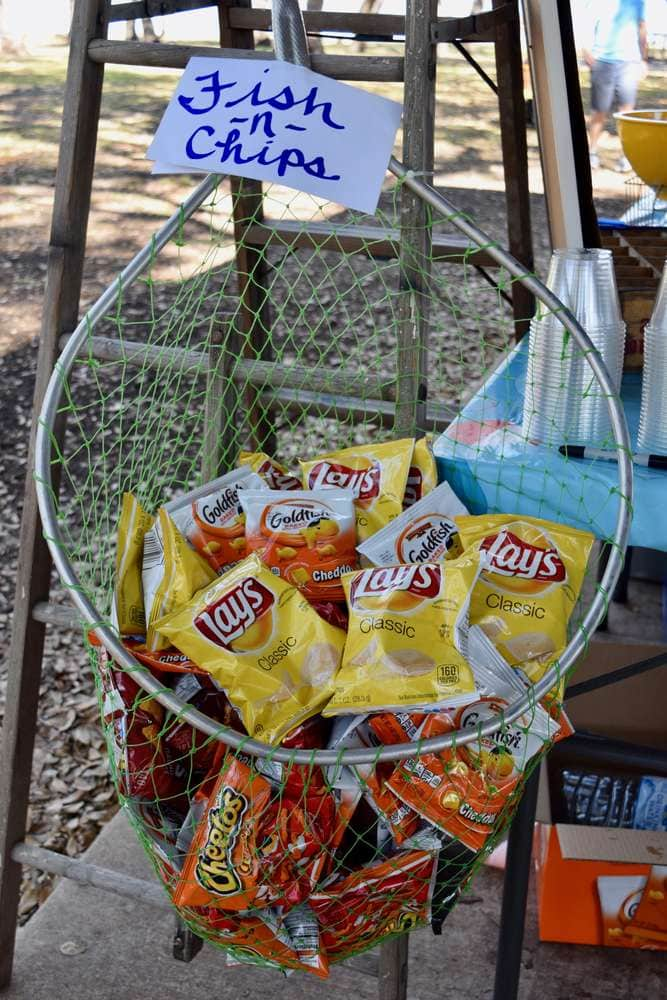 Fishing Net Chips General Conference Idea