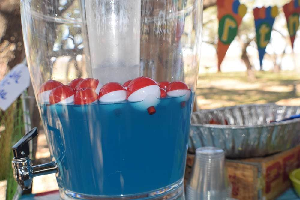 Lake Water Drink ~ General Conference 'Fishers of Men' Treat