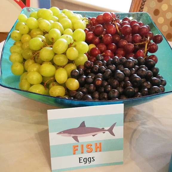 Fish Eggs Party Idea ~ General Conference Treats