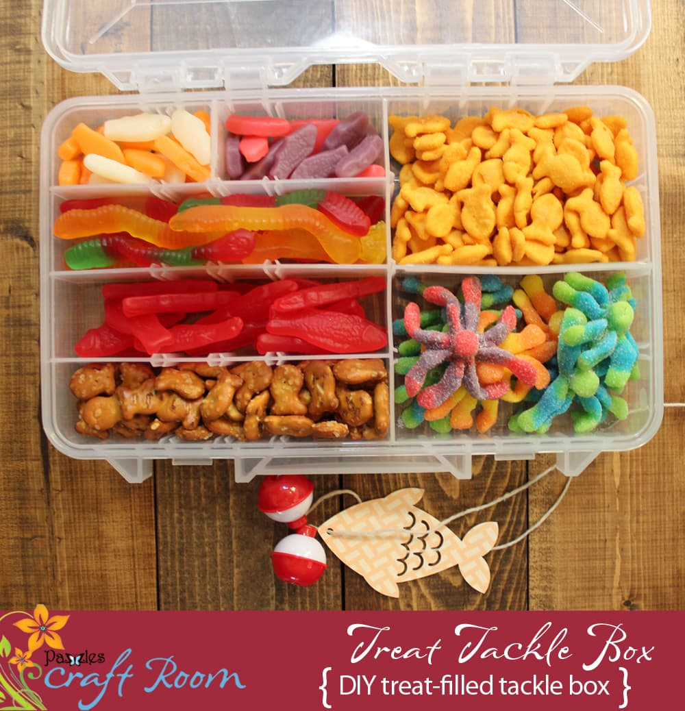 Treat Filled Tackle Box for General Conference