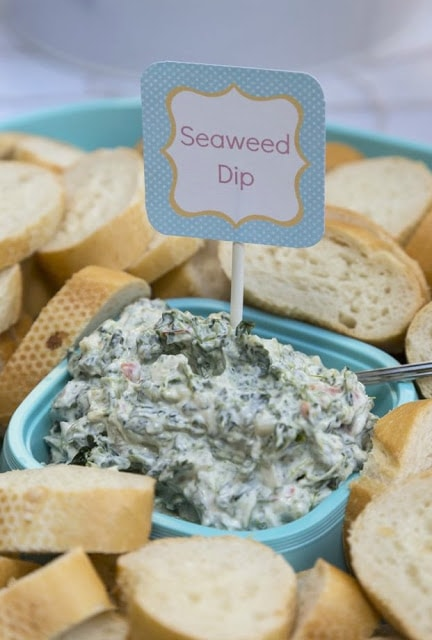 Seaweed Dip ~ 'Fishers of Men' General Conference Idea
