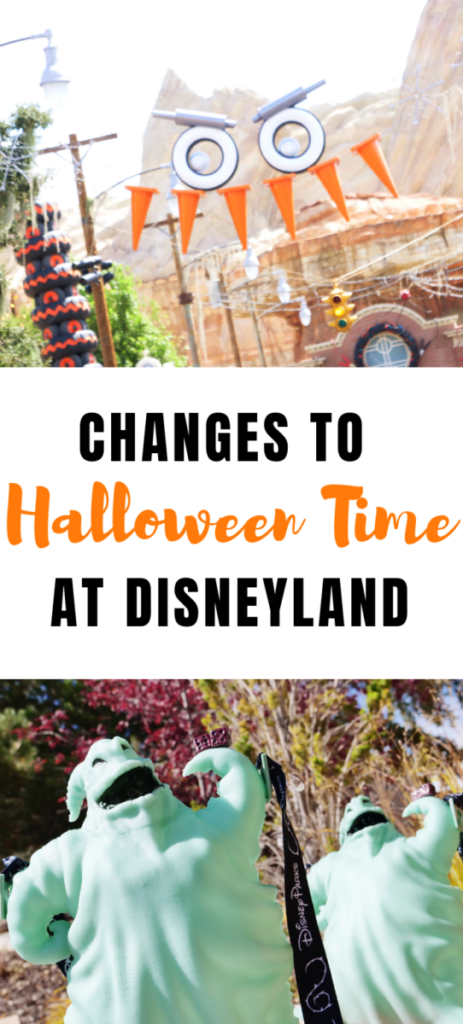 This year, there are some big changes to Halloween Time at Disneyland and I want to give you the heads up so you can make travel plans for one of the best times to visit the Disneyland Resort. #Disneyland #HalloweenTime #OogieBoogie #Disney www.orsoshesays.com