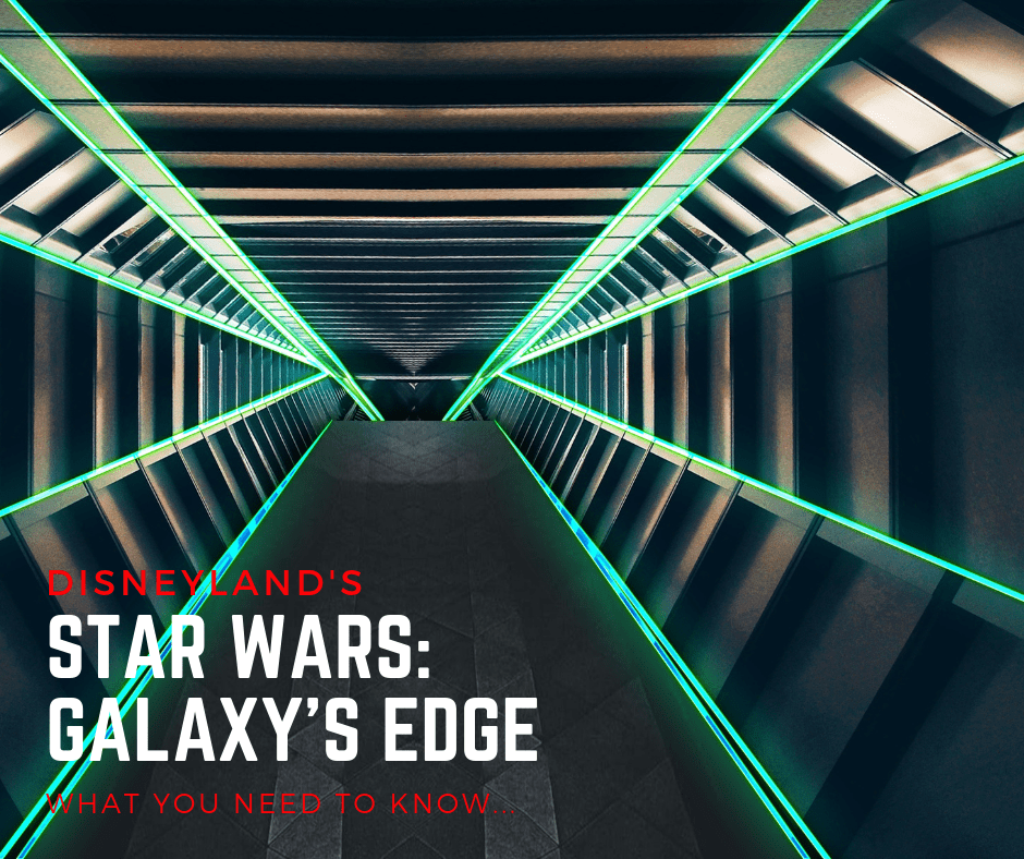 Star Wars Galaxy's Edge ~ What you need to know!