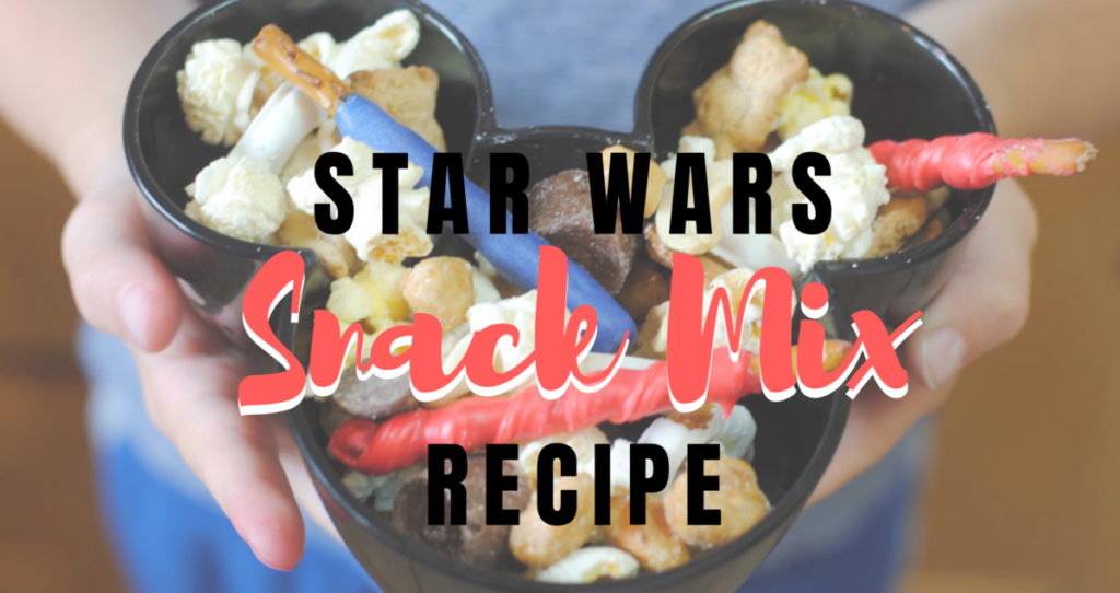 All this talk of Star Wars lately got Adelle thinking about what kind of Star Wars snack you could have at a Star Wars party. Check out what she came up with! www.orsoshesays.com #StarWars #recipe #snacks #Disney #starwarssnacks #starwarsfood #getawaytoday