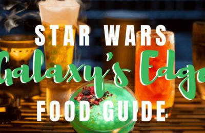 Today we want to share a Star Wars: Galaxy's Edge food guide so you know what to look for on this foreign planet. www.orsoshesays.com #GalaxysEdge #starwars #foodie #disneyland #disney