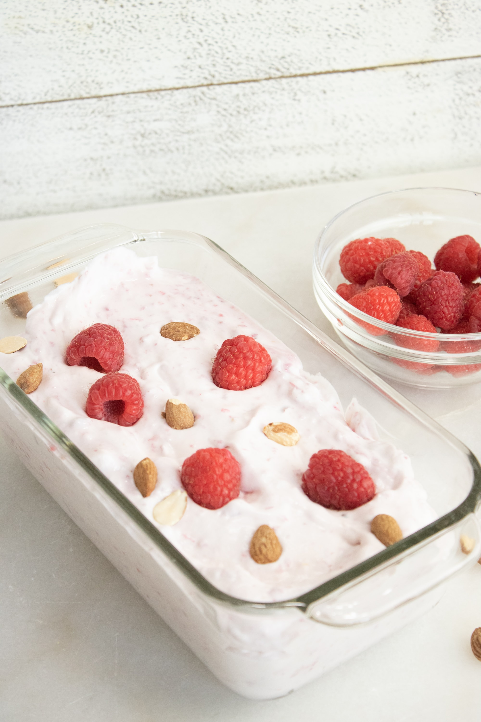 No Churn Easy Raspberry Ice Cream Recipe