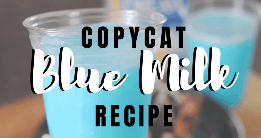 You may have heard about the Blue and Green Milk available at Star Wars: Galaxy's Edge in Disneyland. They're two new cool, refreshing treats available in this new land, and today I'm sharing a copycat Blue Milk recipe inspired by the real thing. www.orsoshesays.com #StarWars #GalaxysEdge #starwarsgalaxysedge #disneyland #disney #food #disneyfood #recipe #smoothie