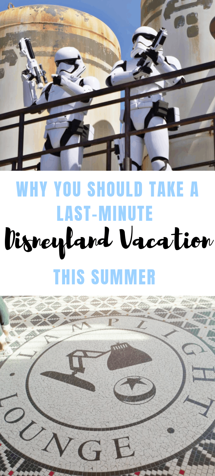 Would you believe that this year crowds have been at an all-time low? That's right! So, I want to encourage you to take a last-minute Disneyland vacation this summer. www.orsoshesays.com #Disneylandvacation #familyvacation #disneyland #travel #familytravel