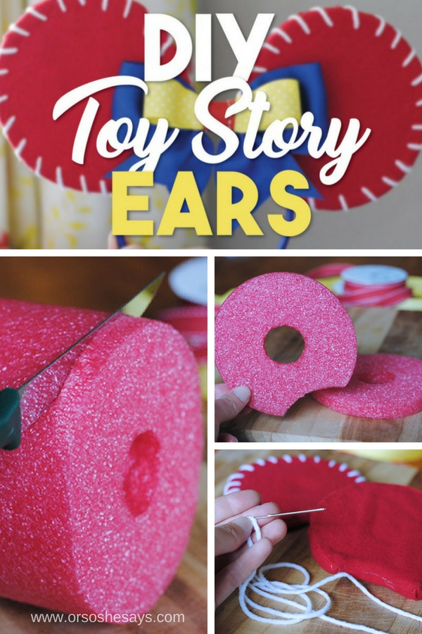 DIY Toy Story Ears #toystory