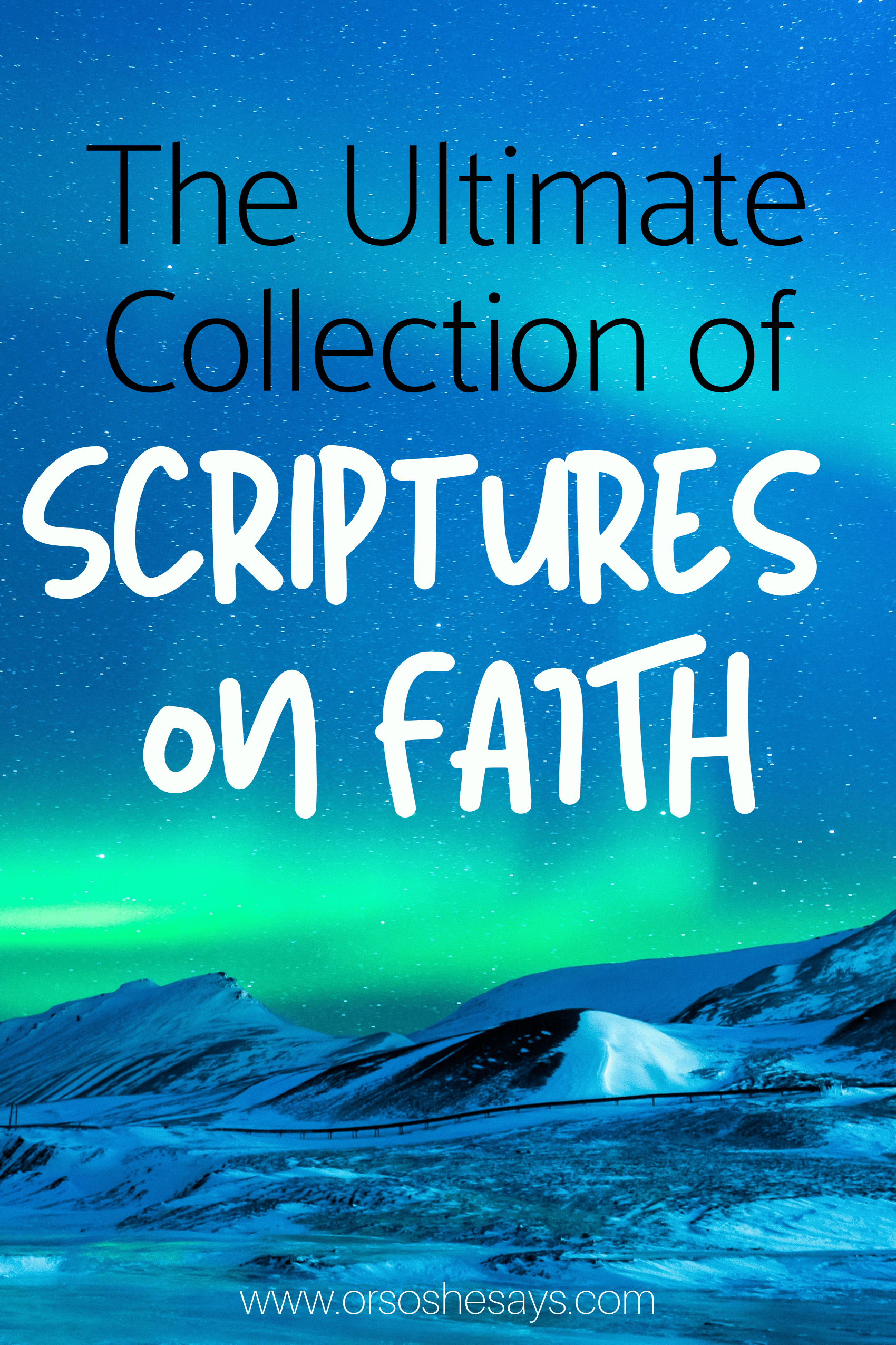 scriptures on faith