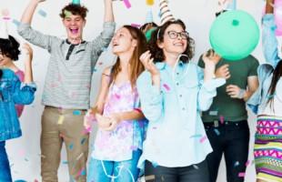 teenage birthday party