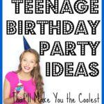 teenage birthday