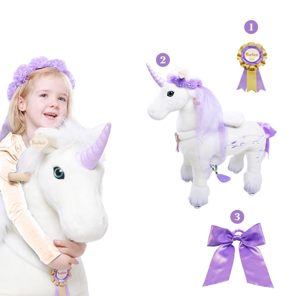 unicorn ride on