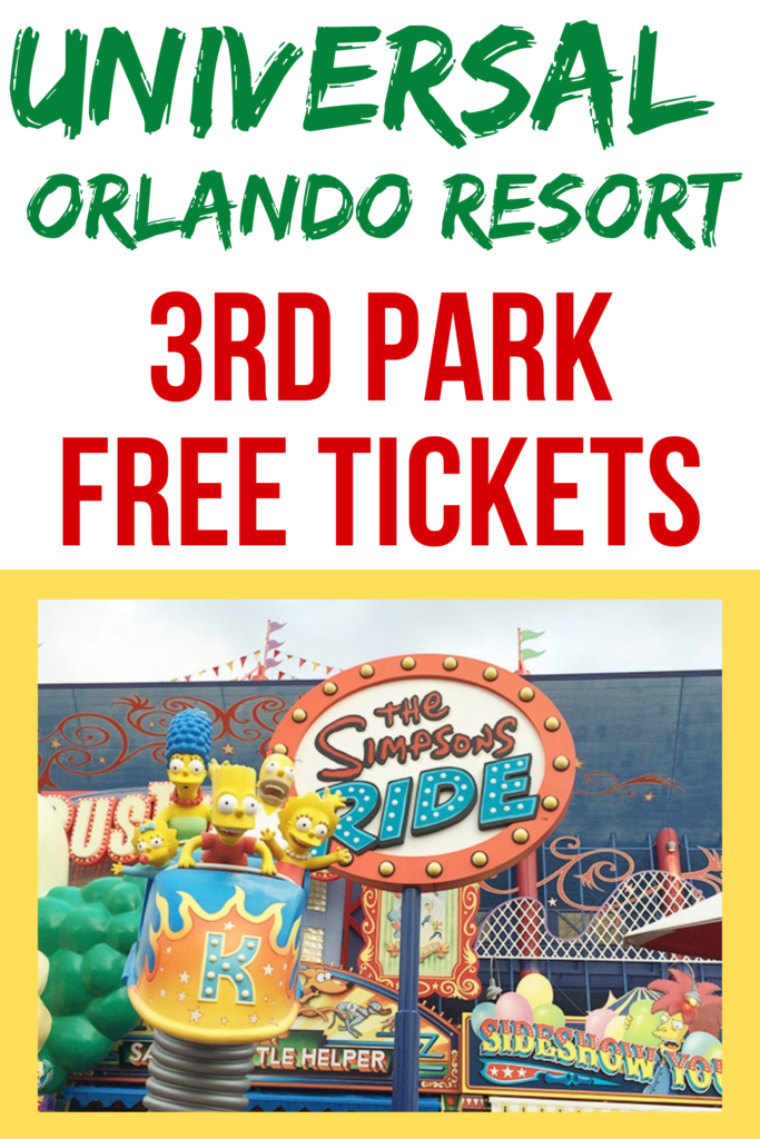 universal orlando resort discount tickets