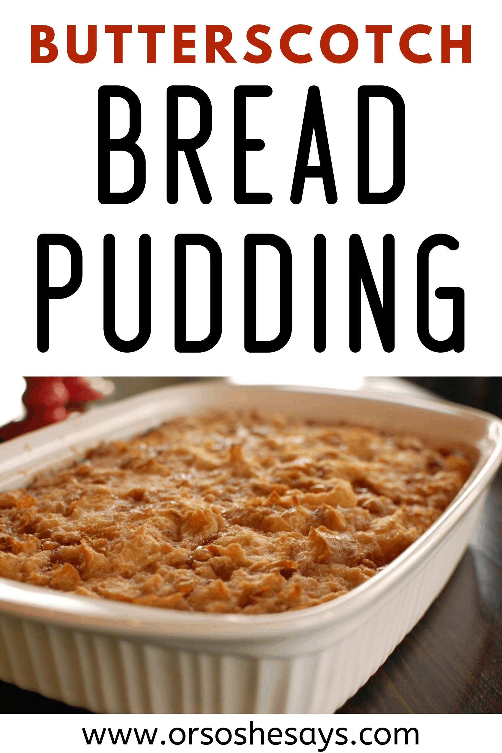 Southern Bread Pudding