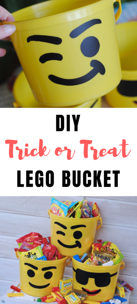 trick or treat lego bucket