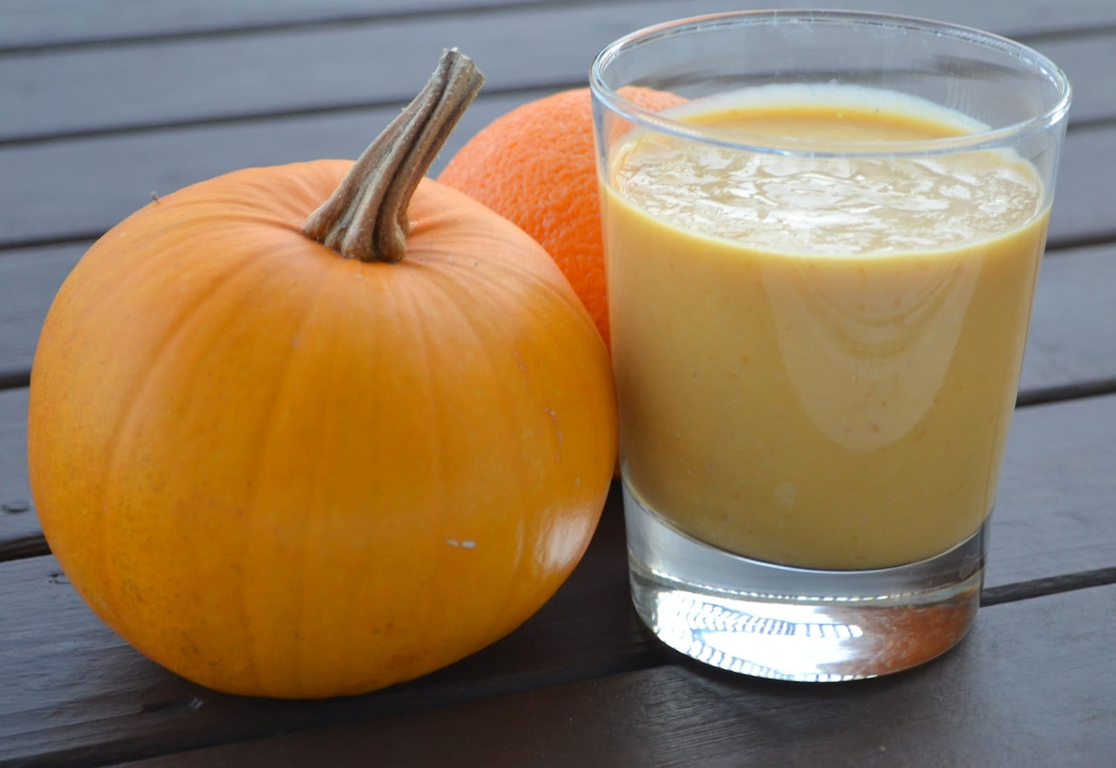 pumpkin smoothi