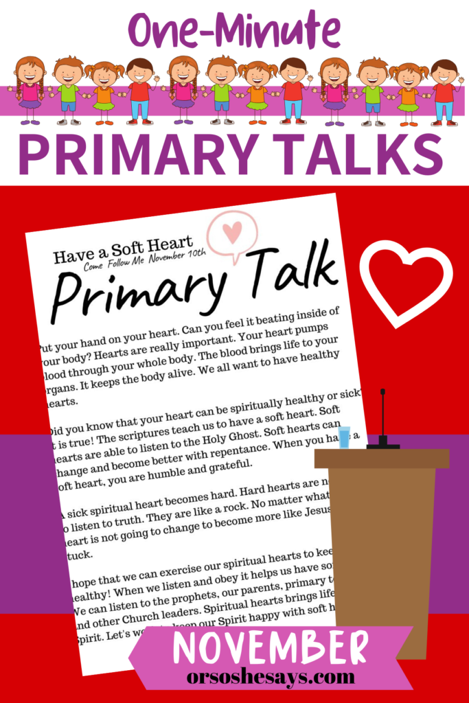 primary talks