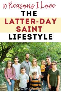 Latter-day Saint lifestyle