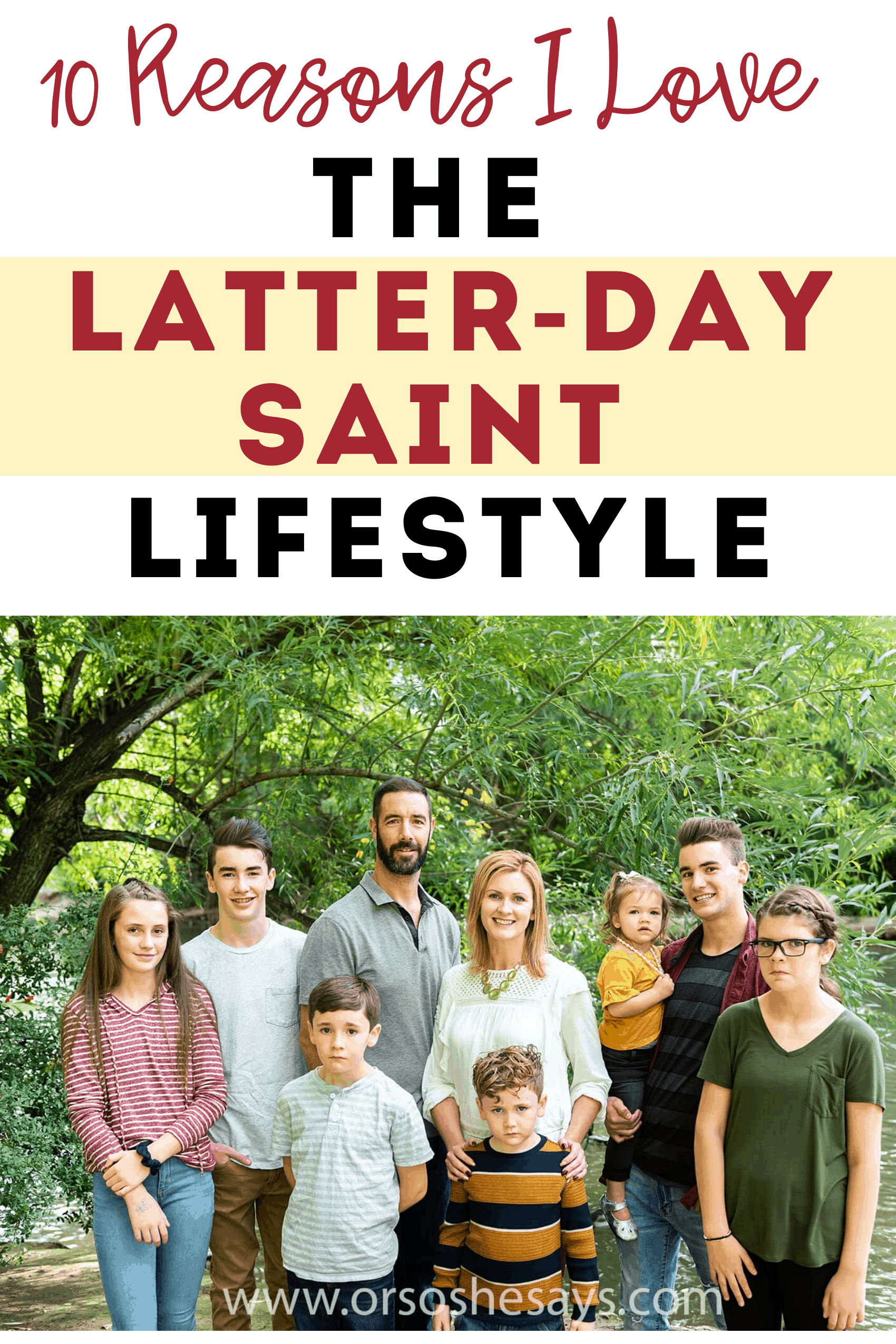 Latter-day Saint lifestyle