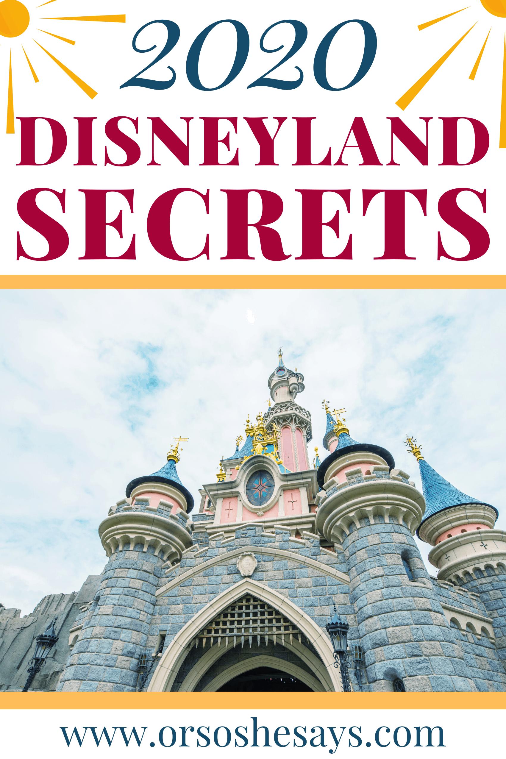 Disneyland tricks