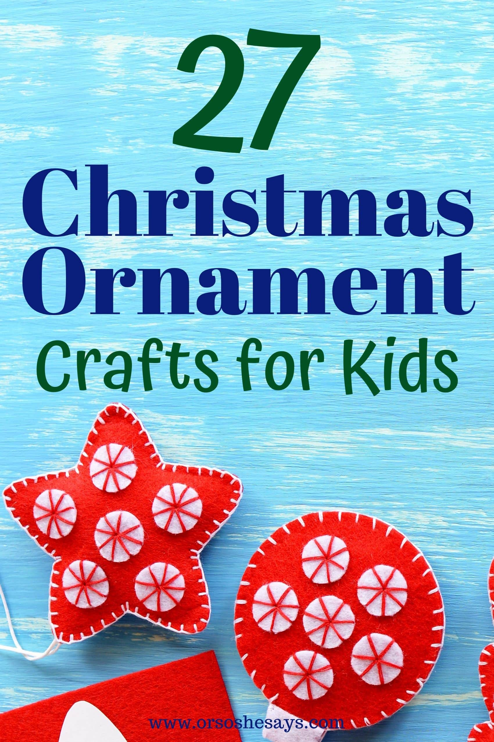christmas ornament crafts for kids
