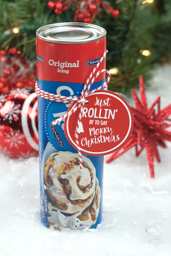 Cinnamon Rolls Gift ~ Gift Idea for Neighbors