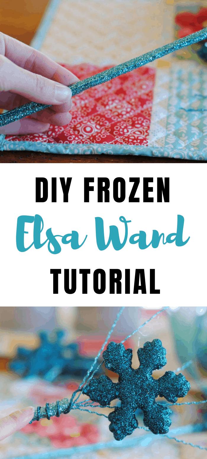 frozen Elsa Wand tutorial