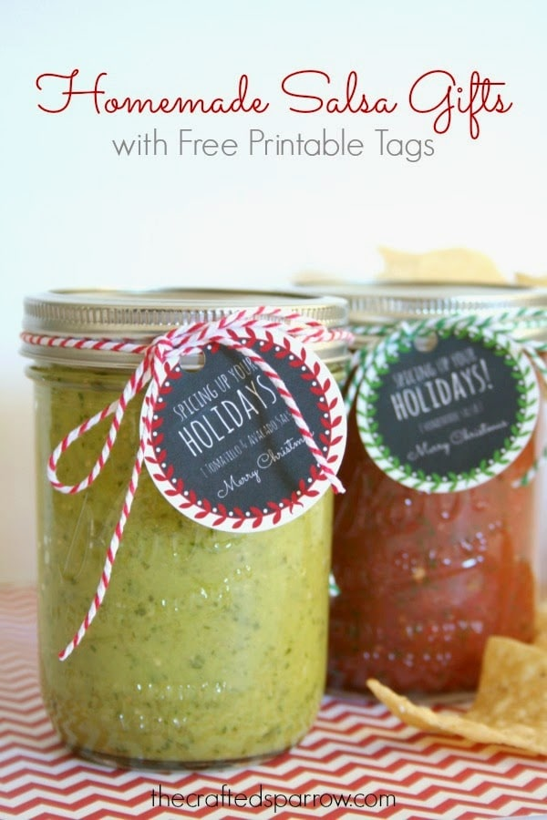 Homemade Salsa ~ Gift Idea for Neighbors