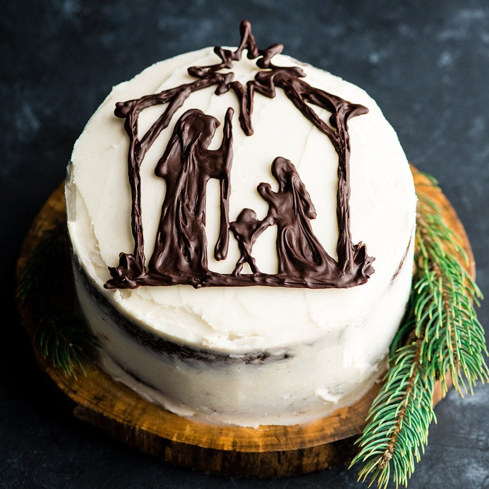 Birthday Cake for Jesus ~ and other Christmas family traditions!