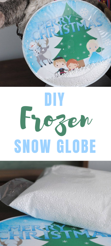 DIY Frozen Snow Globe